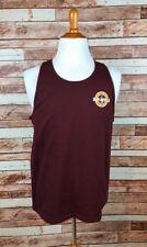 Arizona State University LARGE Maroon Sleeveless T-shirt Tee Champion NEW