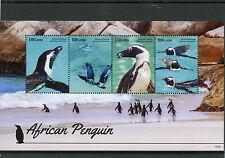 Liberia 2015 MNH African Penguin 4v M/S Penguins Birds Spheniscus Demersus