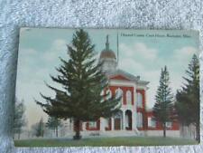 Vtg Postcard Olmsted County Court House, Rochester, Minn