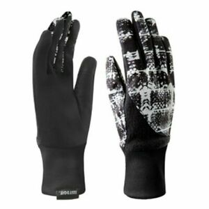 Nike Element Thermal 2.0 Run Women's Gloves Black/White/Silver Size Small New