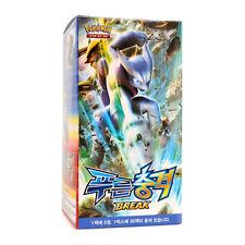 "Pokemon 150 Cards XY Break ""Blue Impact"" Booster Box 30 Packs / Korean Version"