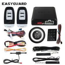 Easyguard security car alarm system remote start keyless entry push to start kit