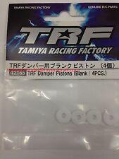 Tamiya 42165 RC TRF Damper Pistons Blank 4pcs