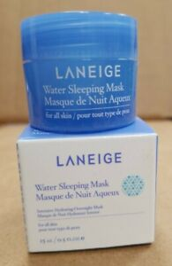 LANEIGE❤Water Sleeping Mask❤.5 Oz/15 ml❤Travel Size❤intensive hydration mask