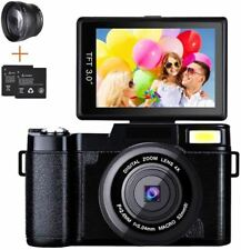 Digital Camera Camcorder, Weton Full HD 1080P 24.0MP Video Camera 3.0 Inch Flip