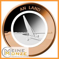10 Euro Münze An Land Deutschland 2020 Stempelglanz Gedenkmünze aus Rolle+Kapsel