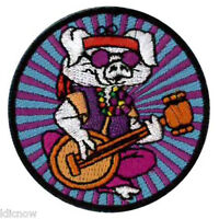 """Hippe Pig Embroidered Patch 5CM (2"""" Dia) approx"""