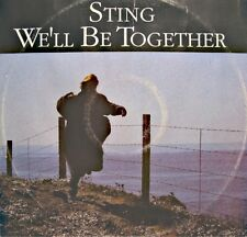 "++STING we'll be together/conversation with a dog MAXI 12"" PROMO 1987 A&M VG++"