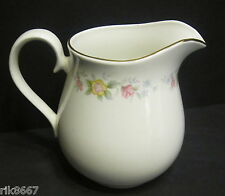 Alpine English Fine Bone China 1 Pint Milk jug By Milton China (Gold rim)