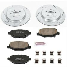 Powerstop K6376-Z23 Brake Pads & Rotor Kit-Rear