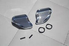 60-67 Chevy GMC Pickup Truck Chrome Vent Window Wind Wing Handles Pair New
