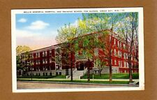 Green Bay,WI Wisconsin, Bellin Memorial Hospital & Training School for Nurses