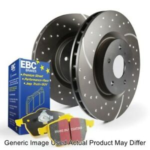 EBC S5KR1530 Rear S5 Kit Yellowstuff & GD Rotors For 2013-2018 Ford F-250 SD NEW