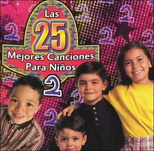 DAMAGED ARTWORK CD Various Artists: 25 Mejores Canciones Para Ninos 2