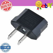 3PC Brand New EU to US Converter Power Adapter Jack Wall Plug Travel Charger