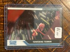 2008 Topps Star Wars Clone Wars Parallel Foil Card #57 130/205