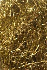 2 x Luxury Gold Shredded Metallic foil ZigZag Paper Basket Filler Hamper Gift
