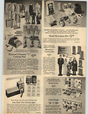 1965 PAPER AD Emenee's Formex 7 Casting Sets Herman Munster TV Show Monster