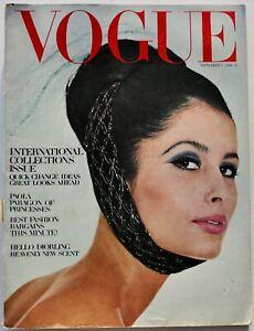 1964 September VOGUE 60s vintage fashion Bailey Paris Courreges London rtw