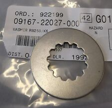 Genuine Suzuki RM250 Clutch Hub Centre Splined Lock Tab Washer 09167-22027