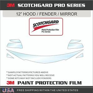 3M SCOTCHGARD PRO PAINT PROTECTION FILM CLEAR BRA FOR 18-21 BUICK ENCLAVE