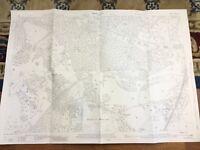 Antique Map Wentworth Golf Club Surrey Potnall Warren Trumpsgreen 1934