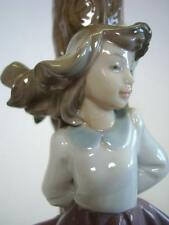 NAO by Lladro Daisa Porcelain Lamp - No Shade + Over 12'' Tall