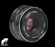 Bilora Voking 35mm 1:1,7 für Sony Nex3 3N 5 5T 5R 6 7 A5000 A5100 A6000 A6100