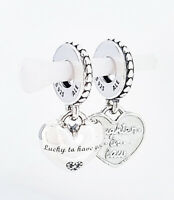 New Authentic Pandora Charms Sweet Mother Dangle 791285cz Limited Edition Ebay