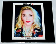 MADONNA - MADAME X - THE REMIXES - 14 TRACK CD - DIGIPAK - CRAVE - GOD CONTROL