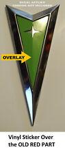 Pontiac G6 2005 2010 Gt Gtp Gxp Rear Emblem Logo Overlay Vinyl Decal Pick Color