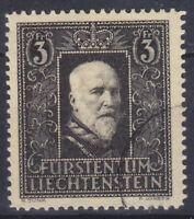 Liechtenstein 171 O 3 Fr. Death Of Prince Franz I, Postmarked