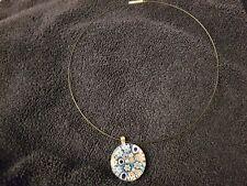 unique pendant with necklace
