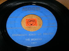 THE MONZAS - STUBBORN KIND OF FELLOW - IT'S LOVE  / LISTEN - SOUL GARAGE POPCORN