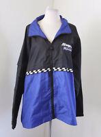 Vtg Snap On Tools Performance Racing Color Block Windbreaker Jacket Size XL