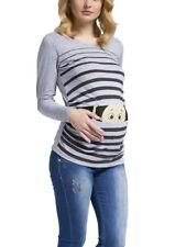 Witzige süße Umstandsmode T-Shirt mit Motiv Schwangerschaft Geschenk Guck MMC