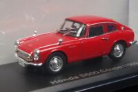 Honda S600 Coupe 1965 Red 1/43 Scale Box Mini Car Display Diecast Vol 29