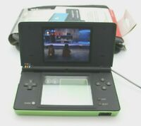 Nintendo DSi Matte Black Handheld Console w/Stylist, Charger & New Case - Tested