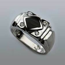 Black Onyx Ring for Men