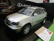 LEXUS RX 300 gris argent au 1/18 AUTOART 70031 voiture 4x4 miniature RARE!!