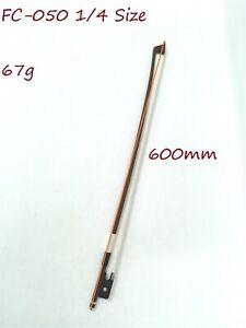 Symphony FC-050 1/4 Size Cello Bow–Brazil-wood, Octagonal Stick, Real Horse Hair