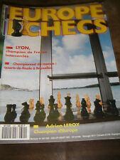 Europe Echecs N° 392 Adrien Leroy Championnat du monde Jan Timman Khenkine