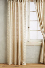 NEW ANTHROPOLOGIE RICCI TIE TOP CURTAIN WINDOW PANEL 50 X 63""