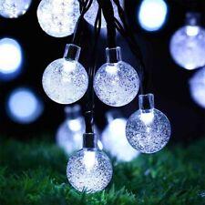 50LED Solar String Lights Patio Party Yard Garden Wedding Waterproof Outdoor NEW
