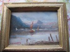 antico dipinto di Atos Brioschi 1912/2010