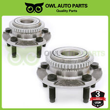 Pair 1994-1999 2000 2001 2002 2003 2004 Ford Mustang Front Wheel Bearing And Hub