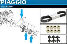 Pack Entretien / Révision Courroie  8 galets 6 Guides d'Origine Aprilia SRV 850