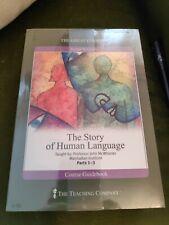 THE HISTORY OF HUMAN LANGUAGE PARTS 1-3 JOHN McWHORTER 6 DVD/BOOK R1 NEW/SEALED