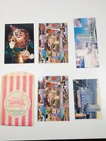 Lot Of 5 Vintage 80s Circus Circus Las Vegas Post Cards - Never Used!