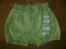 NEW PETIT BATEAU 3MONTHS BABYS GREEN COTTON SHORTS EXCELLENT CONDITION £22.50